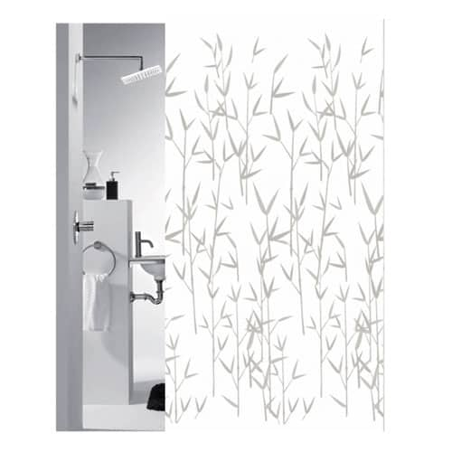 Shower curtain bamboo motif from Engholm