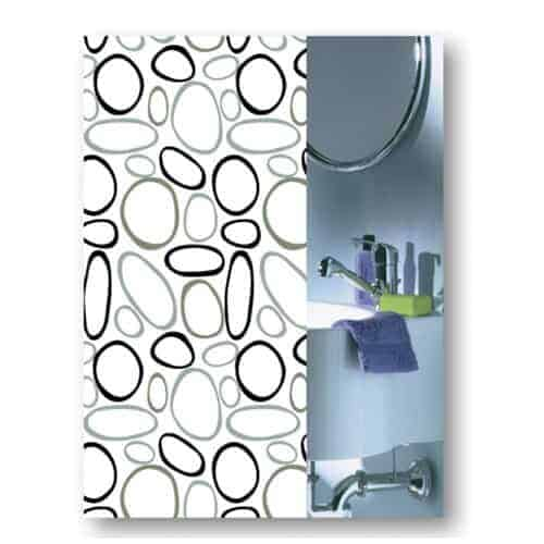Shower curtain stones from Engholm