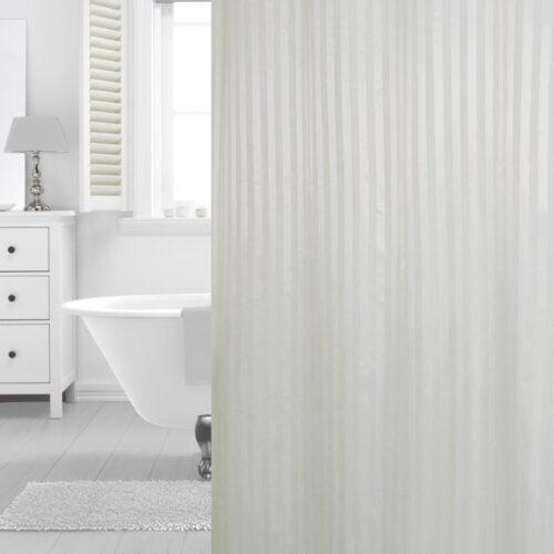Hilton shower curtain