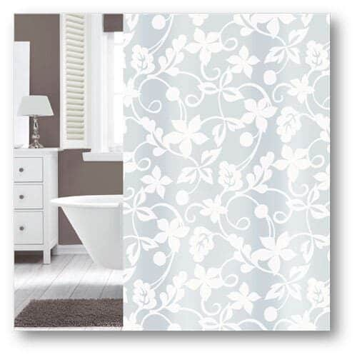 Flower shower curtain from Engholm