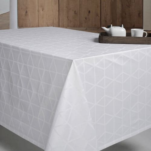 Pelican Damask tablecloth from Engholm