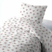 024cdb13ddf Strib sengetøj - Satin - Hvid | Køb her | Engholm Textiles