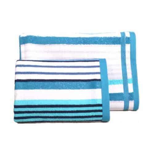 Strib og tern håndklæde fra Engholm