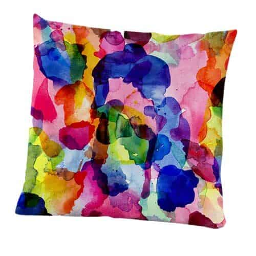 Inky cushion cover from Engholm