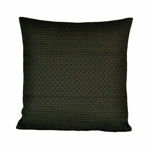 Black cushion cover from Engholm