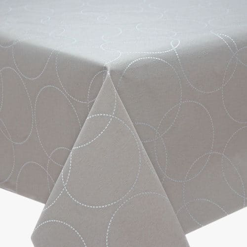 Broken Circle Acrylic tablecloth 160cm wide