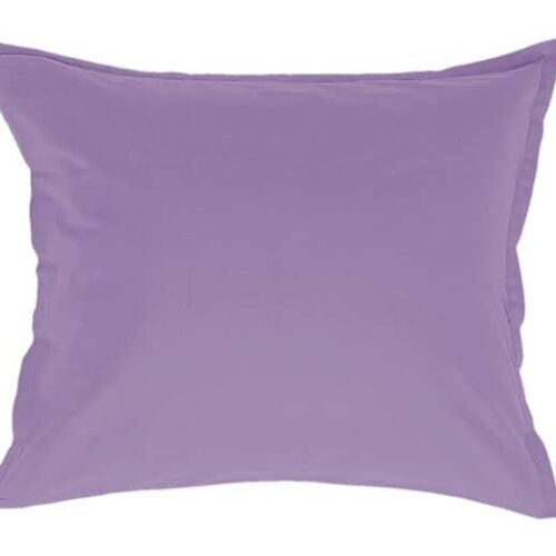 Satin pillowcase in light purple