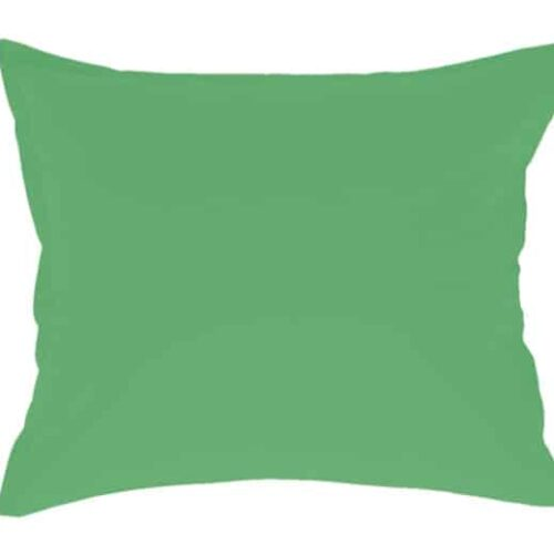 Cotton pillowcase in green