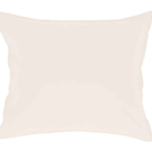Cotton pillowcase in off white