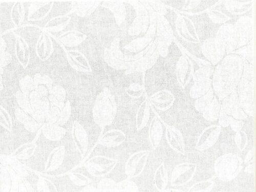 Akryldug med blomster