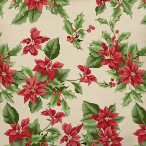 Christmas textile tablecloth 140cm