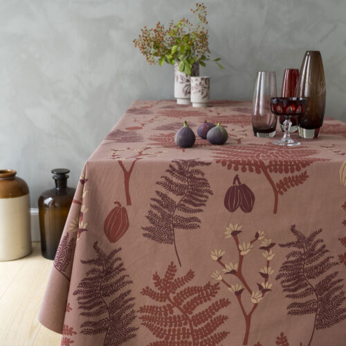 Notes by susanne schjerning textile cloth / Acrylic tablecloth