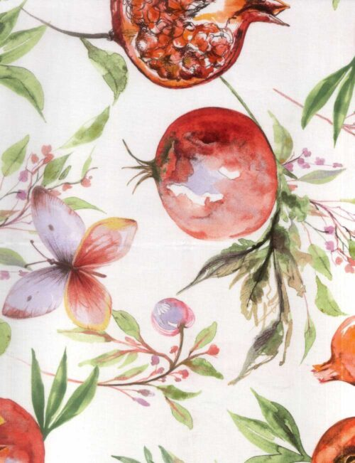 Acrylic tablecloth 140cm wide - 20m per roll